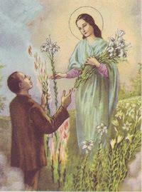 Alessandro's vision of Saint Maria Goretti