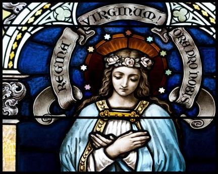 Mary Queen of Virgins